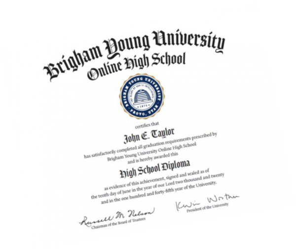 Diploma BYU